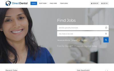 Creating a Free Dental Professional Profile is Easy on DirectDental.com