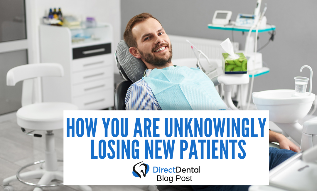 How You Are Unknowingly Losing New Patients