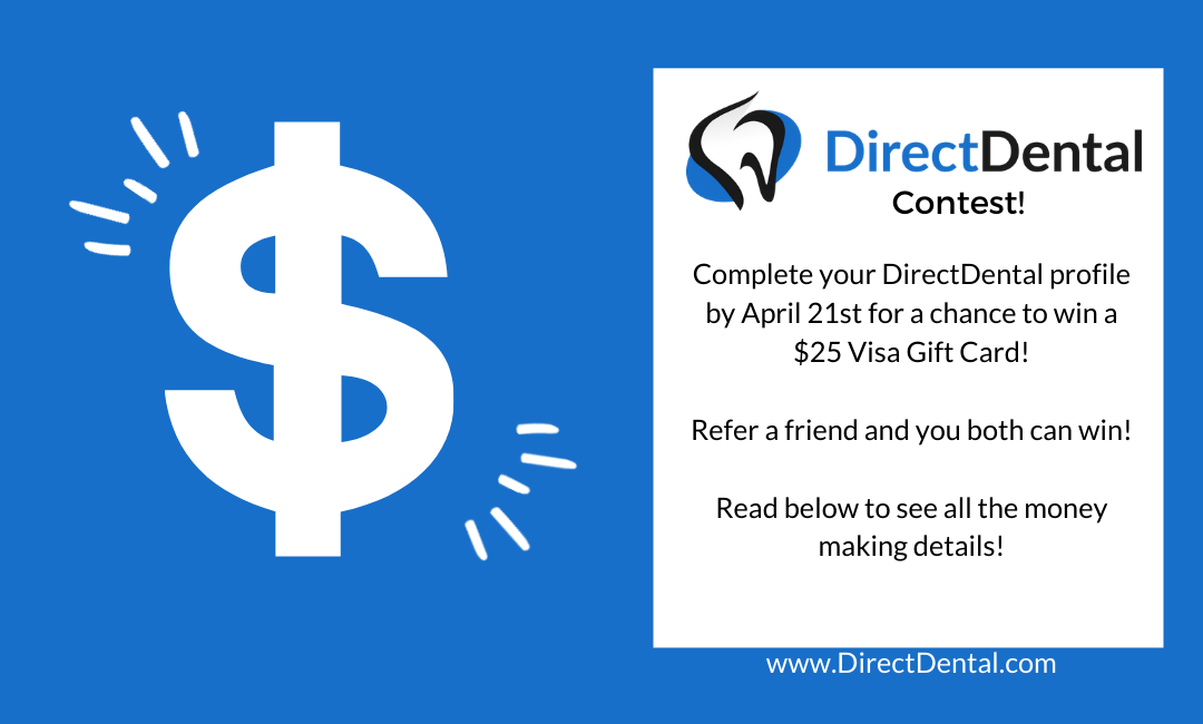 DirectDental is having a CONTEST!