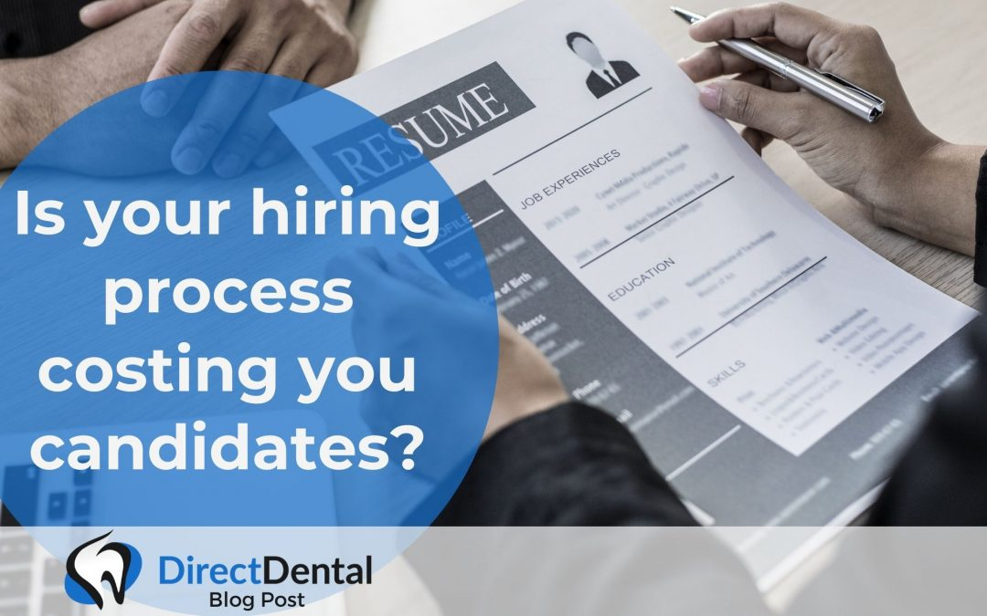 Is your hiring process costing you candidates?