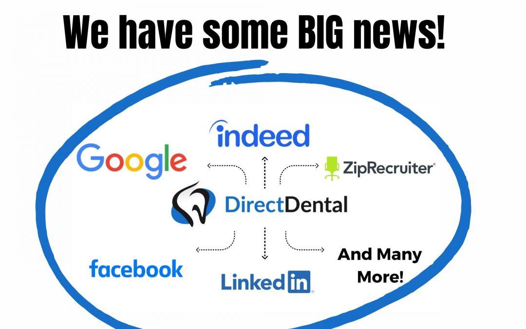 Big News from DirectDental